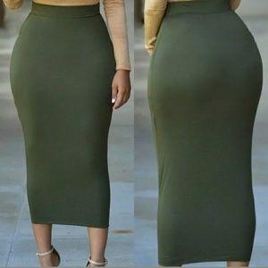 Dresses & Skirts - NEW Long Maxi Style Pencil Skirt